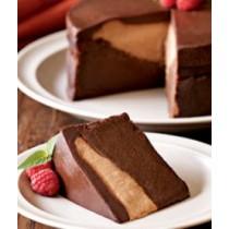 Triple Chocolate Truffle Cake